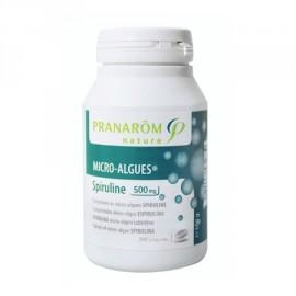 Pranarôm - Micro-Algues Spiruline 500 mg - 200 Comprimés