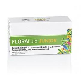 Florafluid Junior - Probiotic Sureau zinc et vitamines - 10 Flacons 7ml