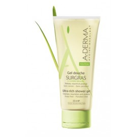 Aderma - Gel Douche Surgras - Tube de 200 ML