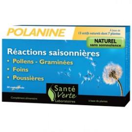 Santé Verte - Polanine - Réactions Saisonnières - 30 cps