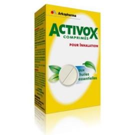 Activox - Comprimés pour Inhalation - 20 Comprimés