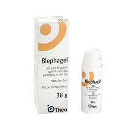Blephagel - Gel Pour l'Hygiène des Paupières et des Cils - 30 gr Flacon Pompe