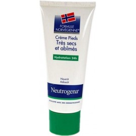 Neutrogena - Crème Pieds Très Secs Et Abîmés - Tube De 100 Ml