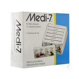 Medi-7 - Pilulier Semainier et Modulaire 7 Jours