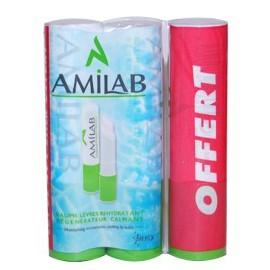 Amilab - Soin Des Levres - 2+1 Sticks 3,6 Ml