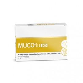 MUCOflu 300 Toux et fluidifiant - 12 sachet de 3 grammes