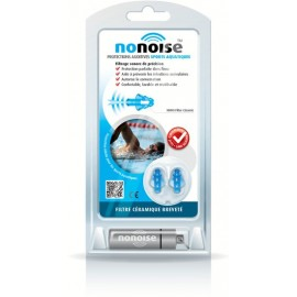 Nonoise - Bouchon protections auditives Sports Aquatiques - 1 paire