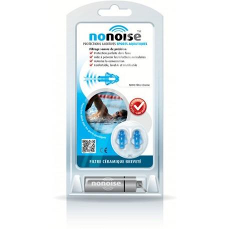 Nonoise - Bouchon protections auditives Sports Aquatiques - 1 paire