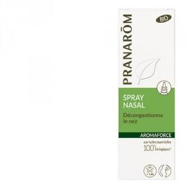Pranarôm - Spray Nasal Aromaforce - Pour dégager le nez - 15 ml