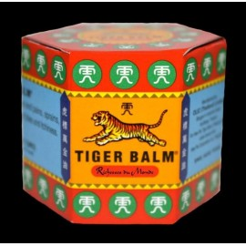 Baume du Tigre Rouge - Baume de Massage Camphré - Lot de 2 Pot de 21 ml
