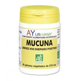 Ayur-Vana - Mucuna Bio Vitalité Psychique - 60 gélules