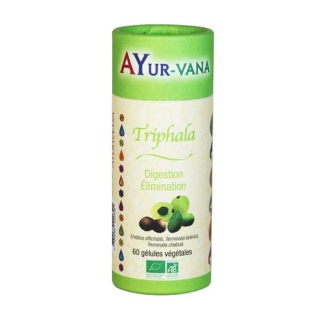 Ayur-Vana - Triphala bio - 120 gélules