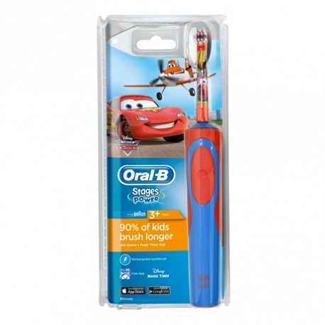 oral b stages power brosse dents electrique enfants 3 ans et couleur cars autour de. Black Bedroom Furniture Sets. Home Design Ideas