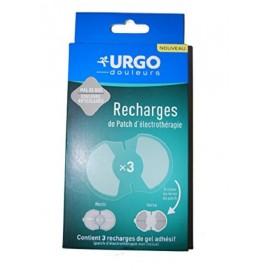 Urgo - Recharges Patch d'Electrothérapie Préprogrammée - 3 recharges