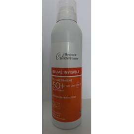 Brume Invisible Solaire SPF UVB 50+ et UVA - Texture Fraîche - 200 ml