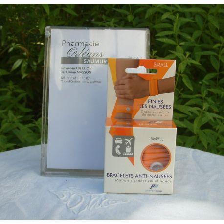 PharmaVoyage - Bracelets Anti-Nausées - 1 paire Small