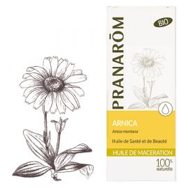 Pranarôm - Huile de Macération Bio Arnica - 50 ml