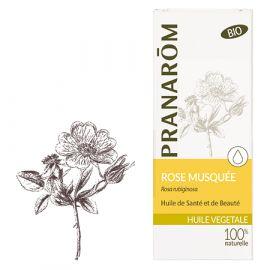 Pranarôm - Huile Végétale Bio Rose musquée du Chili - 50 ml