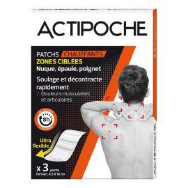 Cooper - Actipoche Patch Ergonomique Chaffaut - 3 Patchs