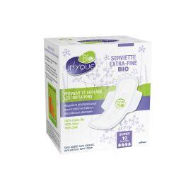 Unyque - Serviette Coton Bio Super - boîte 10