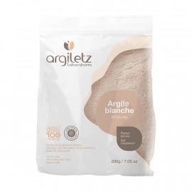 Argiletz - Argile Blanche Ultra Ventilée - Poudre 200 Gr