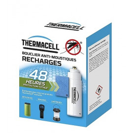 Thermacell - Diffuseur Bouclier Anti-moustiques - 20m² de zone de protection - Rouge