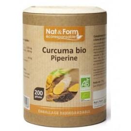 Nat et form - Spiruline Bio 100% Française - 180 Comprimés