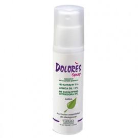 Dolores - Spray d'huiles essentielles Muscules Douleurs - 50 ml