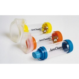 AeroChamber Plus - Chambre d'Inhalation pour Aerosol-Doseur - 0- 18 Mois avec Masque