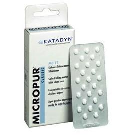 Micropur Classic - Comprimés Désinfection et Purification Eau - 100 cp