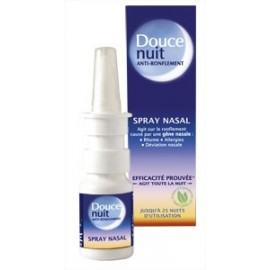 Douce nuit - Anti-ronflement Spray Nasal - Flacon de 10 ml