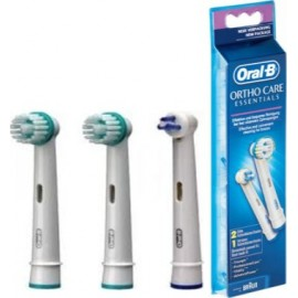 Pack 3 Brossettes Orthodontiques OD17 - Oral-B