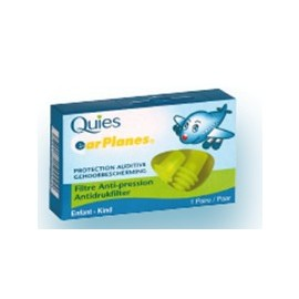 Quies - Protections Auditives EAR PLANES - 1 paire enfant