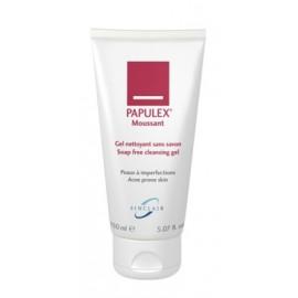 Papulex - Gel Moussant Nettoyant Anti-acnéïque Visage et Corps - Tube de 150 ml