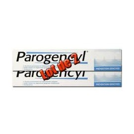 Parogencyl - Dentifrice Anti Age Prévention Gencive - 2 Tubes De 75 Ml
