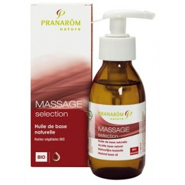 Pranarôm - MASSAGE selection Huile de base naturelle Bio - 100 ml