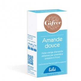 Gifrer - Huile D'Amande douce - 60 ml