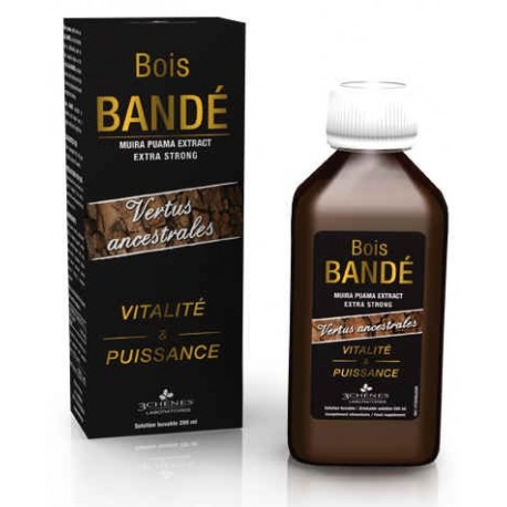 3C Pharma - Bois Bandé - Vitalité et Puissance - 200 ml